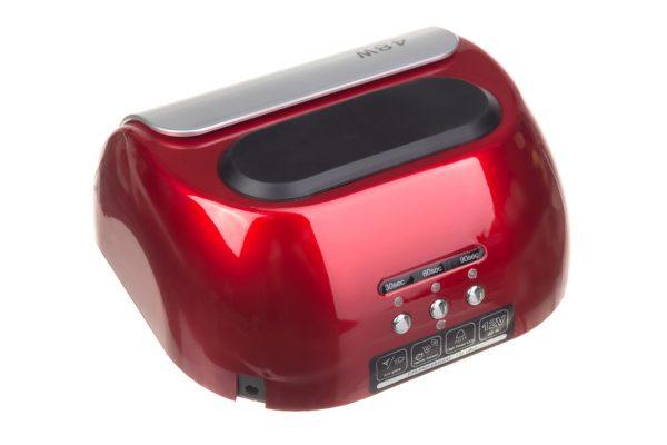 Lampa do paznokci CFL06 czerwona tyl