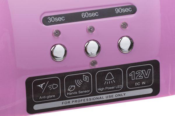 Lampa do paznokci CFL06 purpurowa przyciski