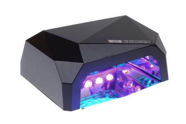 Lampa LED 36W DIAMOND do paznokci BS-557 czarna swiatla