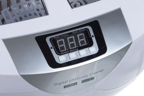 Myjka ultradźwiękowa 2.5L BS-4820 przyciski