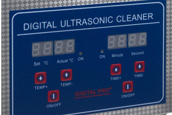 Myjka ultradźwiękowa 2L BS-UC2 50W przyciski