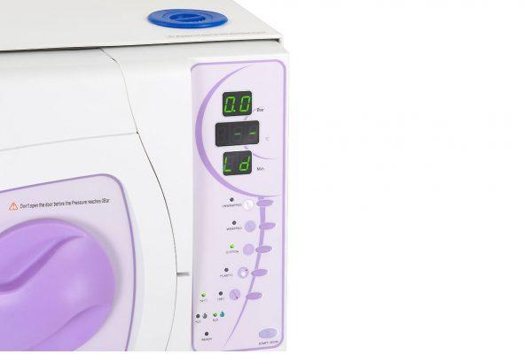 Autoklaw medyczny kl.B 18L SUN18-II drukarka przyciski III