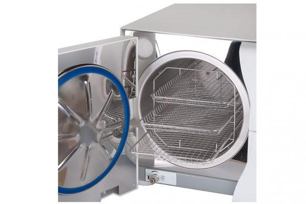 Autoklaw medyczny kl.B 18L SUN18-II drukarka przyciski wnetrze
