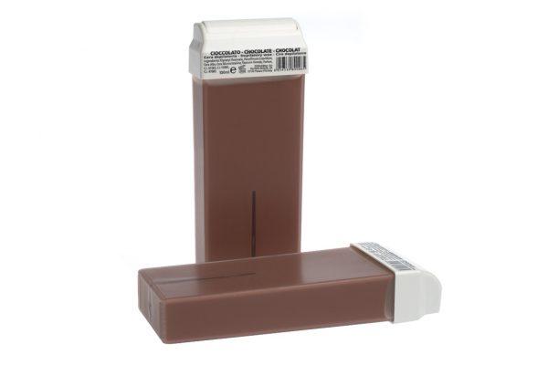 wosk do depilacji w rolce czekolada