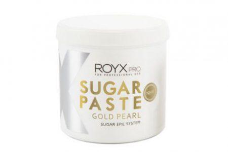 pasta cukrowa do depilacji royx pro gold pearl