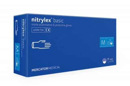 rekawiczki nitrylowe nitrylex-basic